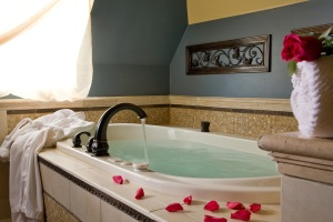 Room #7's decadent bath
